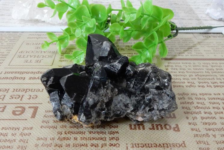 モリオン(黒水晶) クラスター