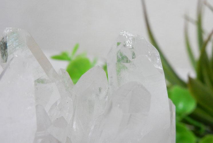 四川省産クォーツ(水晶) クラスター(台座付)-2