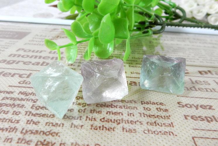 フローライト結晶 3個セット-1