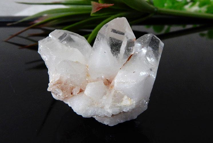 ブラジル産クォーツ(水晶)クラスター 2個セット-3