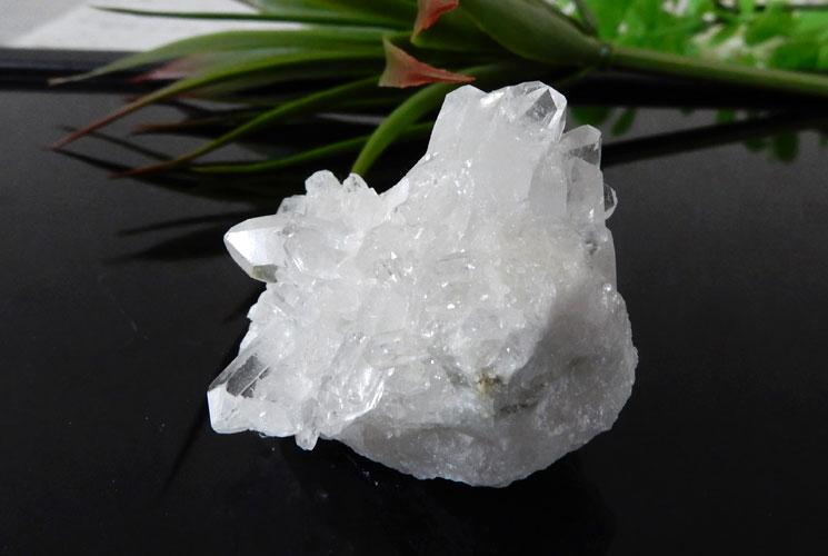 ブラジル産クォーツ(水晶)クラスター 2個セット-7