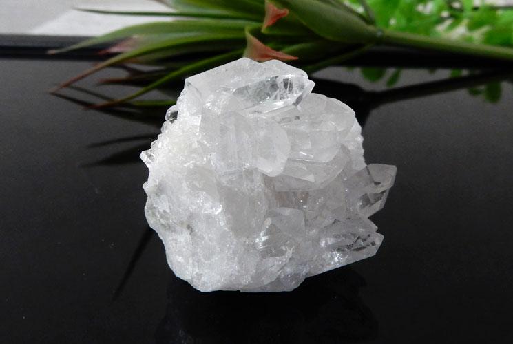 ブラジル産クォーツ(水晶)クラスター 2個セット-8