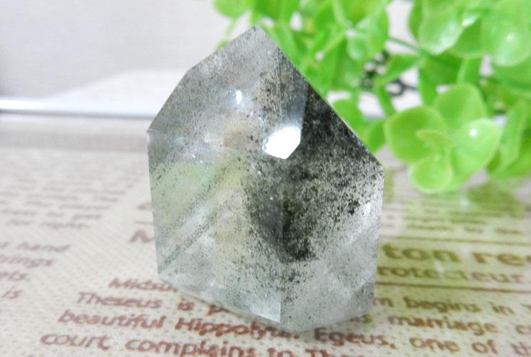 ブラジル産ガーデンクォーツ(水晶)ポイント 3本セット-1