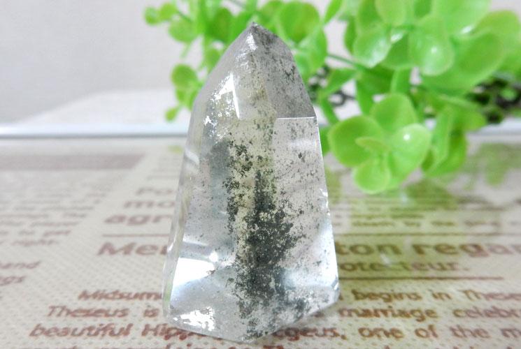 ブラジル産ガーデンクォーツ(水晶)ポイント 3本セット-2