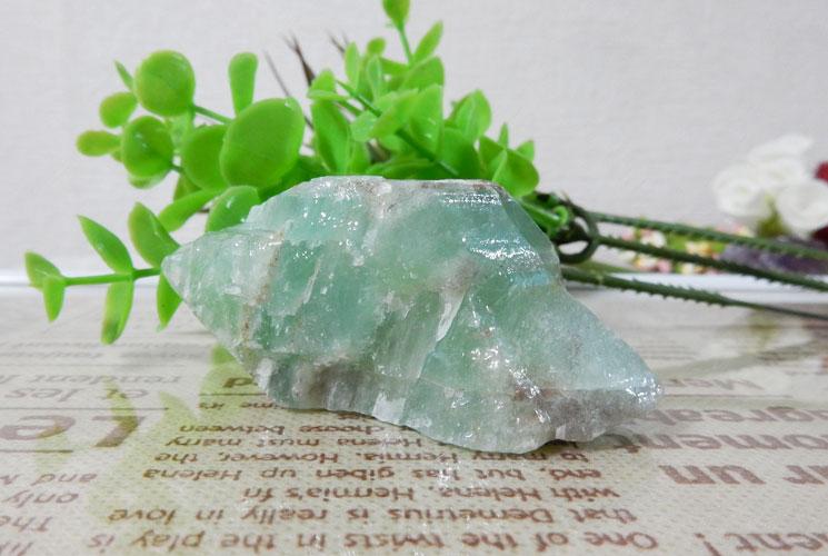 グリーンフローライト 原石