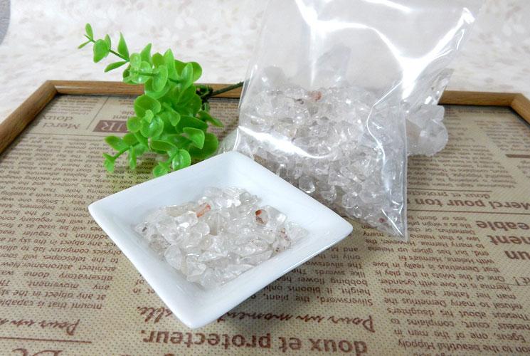 ヒマラヤ・マニカラン産水晶 さざれ石(200g)-1