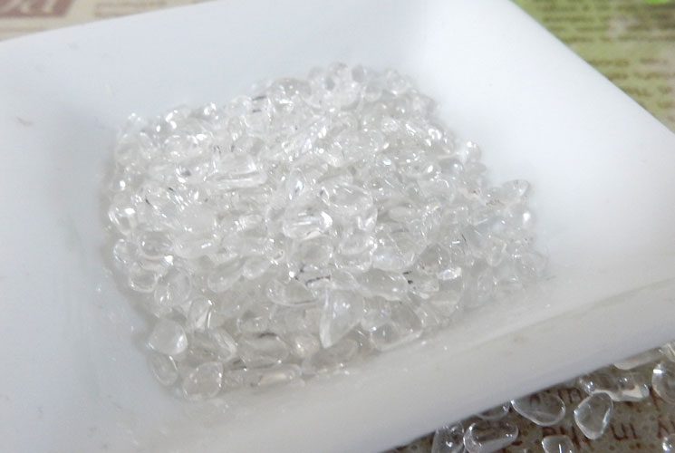 ブラジル産クォーツ(水晶) さざれ石(200g)-0