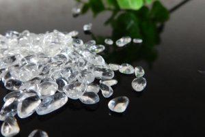 ブラジル産クォーツ(水晶) さざれ石(200g)(15-sz0914-01)