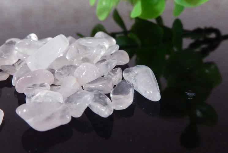 ブラジル産ローズクォーツ さざれ石(200g)