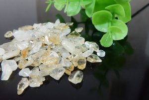 ブラジル産シトリン さざれ石(200g)(15-sz0914-03)