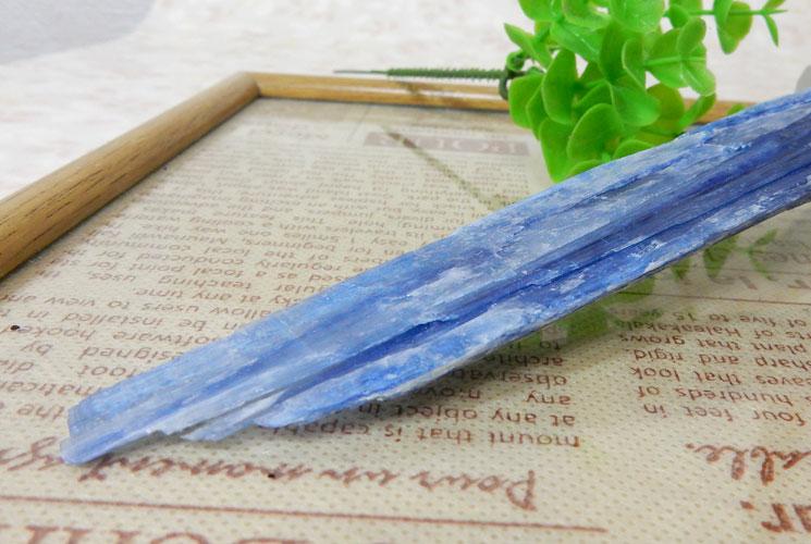 ブラジル産カイヤナイトの原石-0