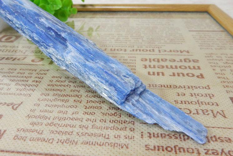 ブラジル産カイヤナイトの原石-4