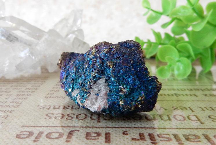 メキシコ産ピーコックオレ(斑銅鉱)の原石-1