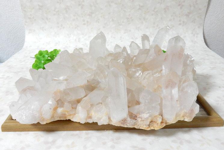 ヒマラヤ・マニカラン産水晶のビッグクラスター-0