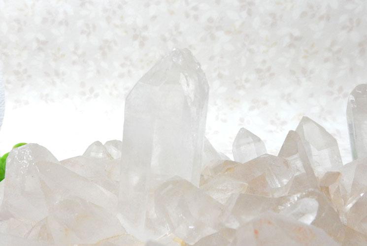 ヒマラヤ・マニカラン産水晶のビッグクラスター-2