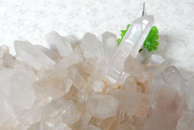 ヒマラヤ・マニカラン産水晶のビッグクラスター-5