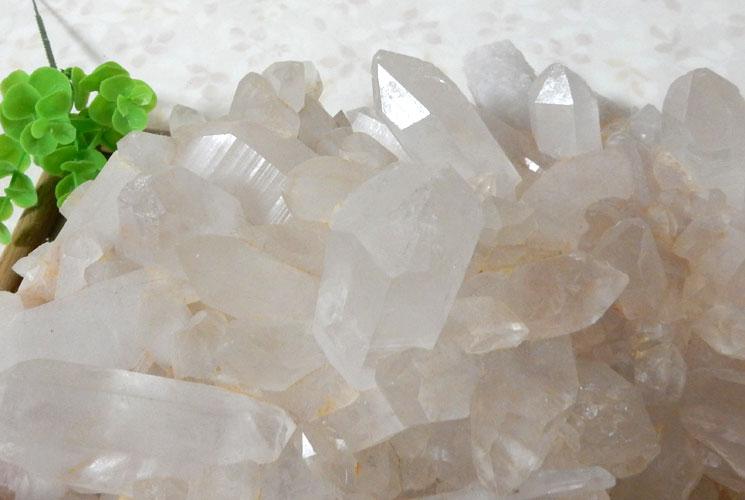 ヒマラヤ・マニカラン産水晶のビッグクラスター-6
