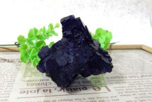 メキシコ産パープルフローライトの原石(16-gs0112-02)