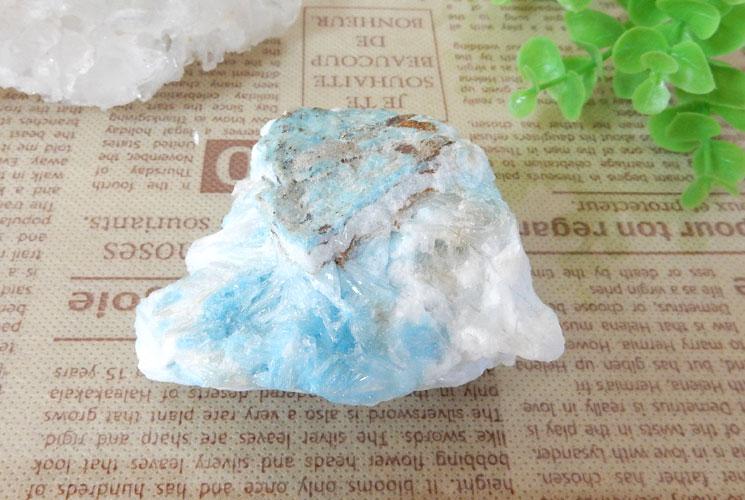 ブルーアラゴナイトの原石-0