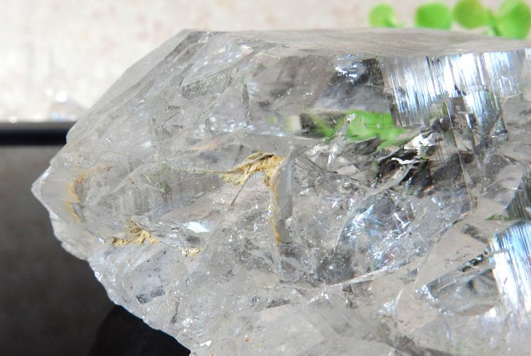 ヒマラヤ産レインボーエレスチャルクォーツの原石-4