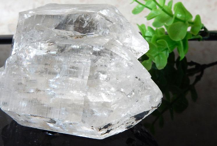 ヒマラヤ産レインボーエレスチャルクォーツの原石-5
