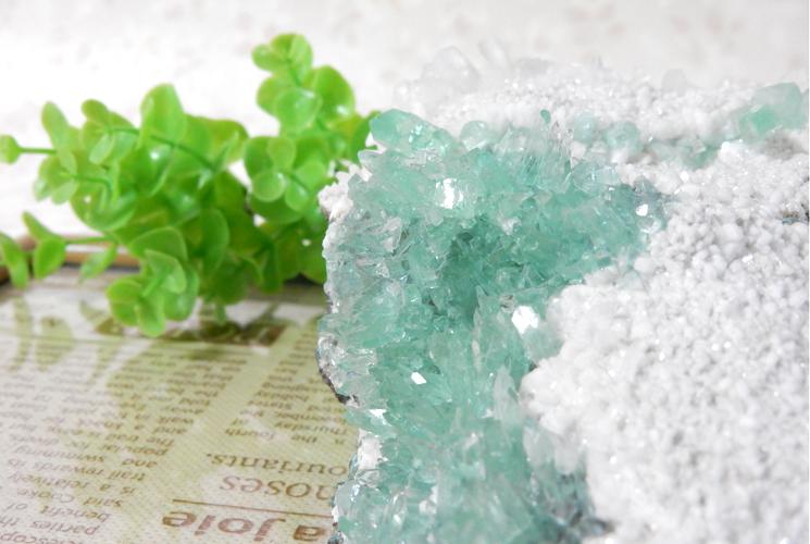 インド産グリーンアポフィライトの原石-0