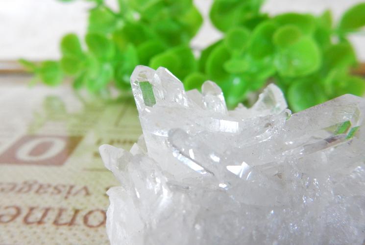 ブラジル産小さな水晶のクラスターセット-2