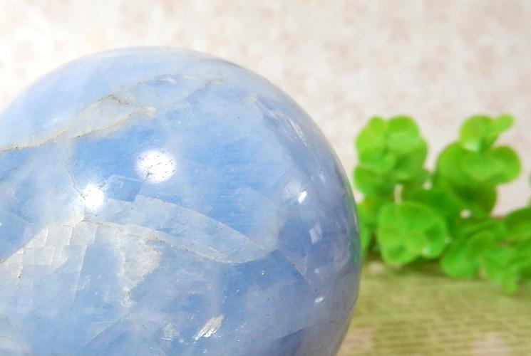 ブルーカルサイトの丸玉(スフィア)-1