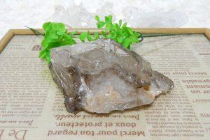 ブラジル産スモーキーエレスチャルクォーツDTの原石(16-gs0621-01)