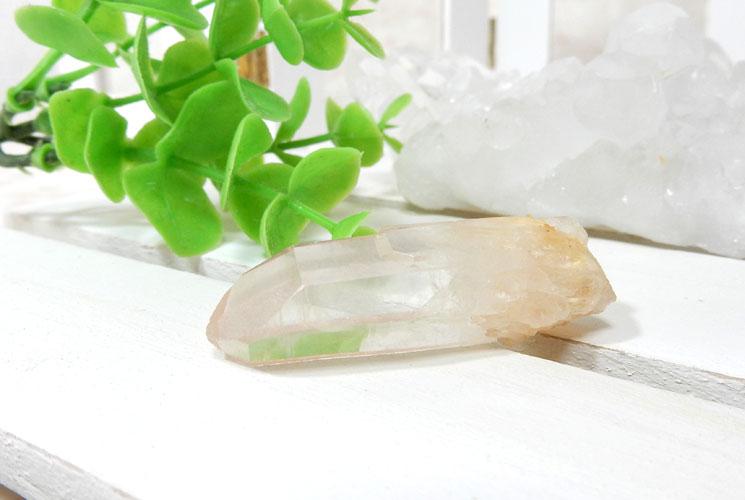 ヒマラヤ・マニカラン産水晶のポイント2本セット-1