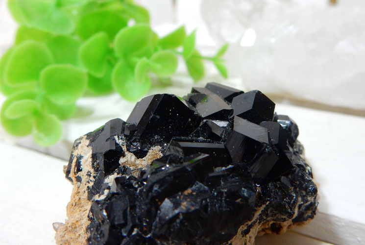 南アフリカ産ブラックトルマリンの原石-1