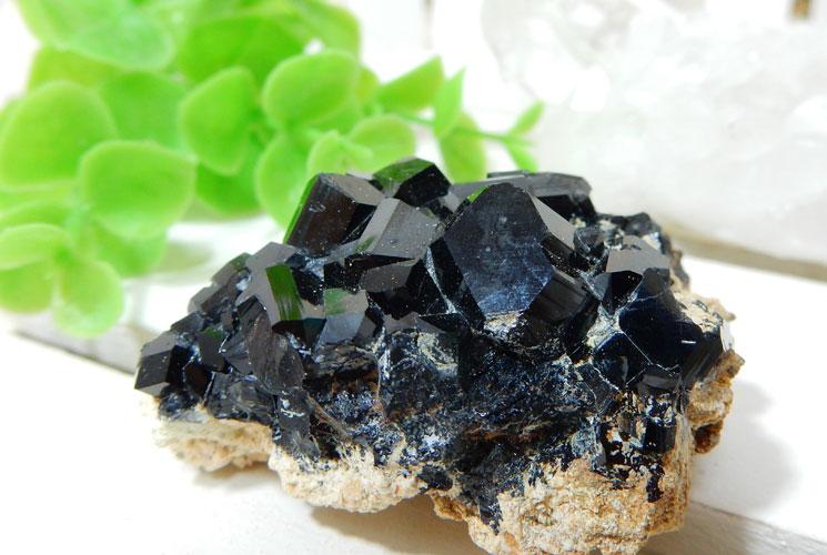南アフリカ産ブラックトルマリンの原石-3