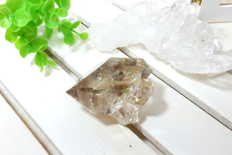 ハーキマーダイヤモンドの原石-0