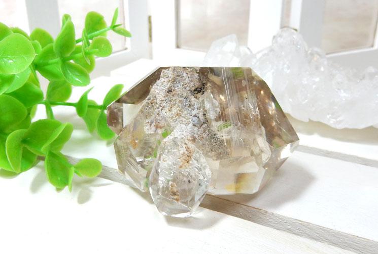 ハーキマーダイヤモンドの原石-5