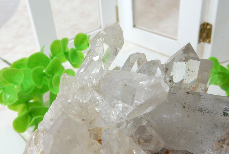 ヒマラヤ・ガネーシュヒマール産水晶のクラスター-5