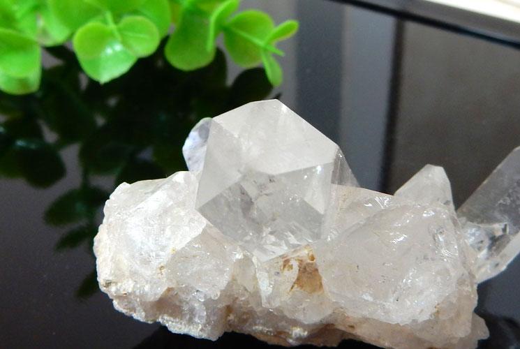 ブラジル産水晶のクラスター-4