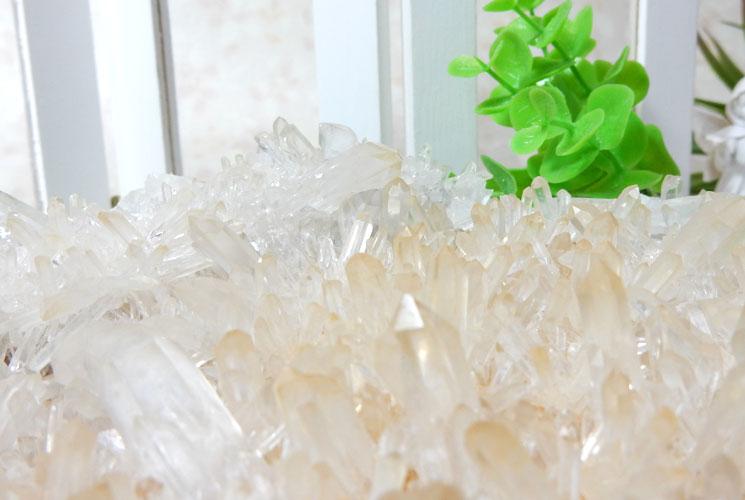 四川省産水晶のビッグクラスター-5