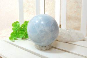 ブルーカルサイトの丸玉(スフィア)(16-gs1129-01)