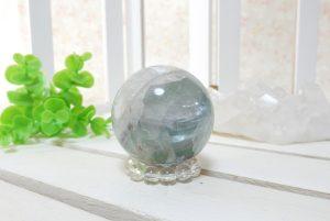 フローライトの丸玉(スフィア)(17-gs0101-08)
