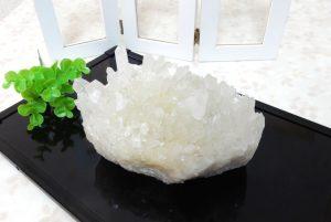 四川省産水晶のクラスター(17-gs0101-22)