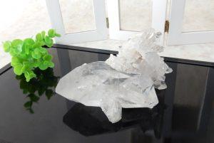 ブラジル産水晶のクラスター(17-gs0101-26)