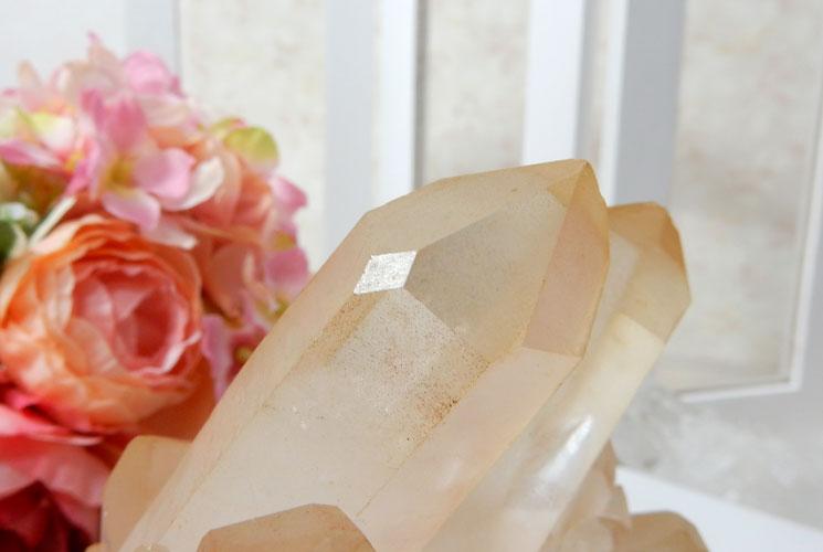 ヒマラヤ水晶のクラスター-3