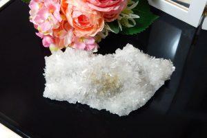 四川省産フラワー水晶クラスター(17-gs0523-01)