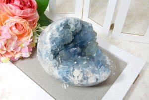 マダガスカル産セレスタイトの原石(17-gs0602-01)