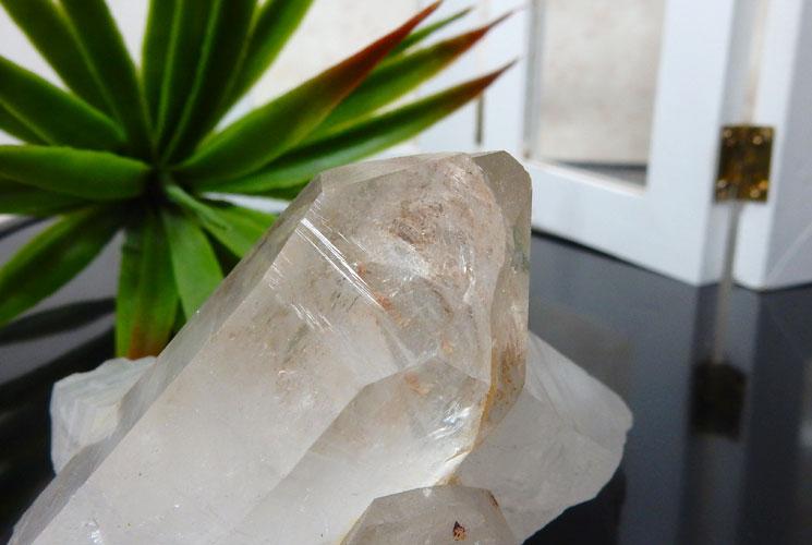 ヒマラヤ水晶のクラスター-1