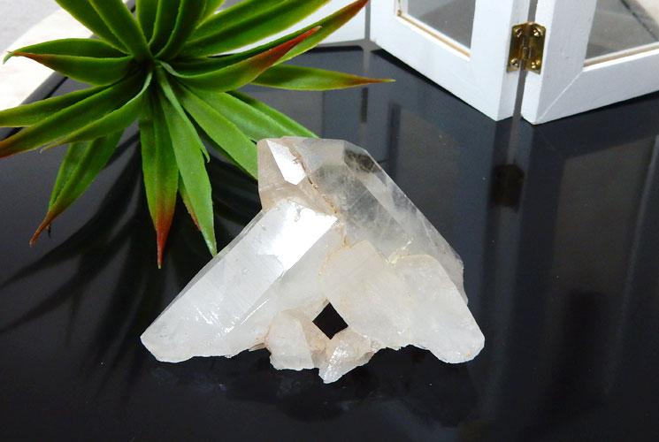 ヒマラヤ水晶のクラスター