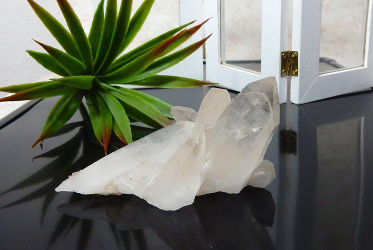 ヒマラヤ水晶のクラスター-2