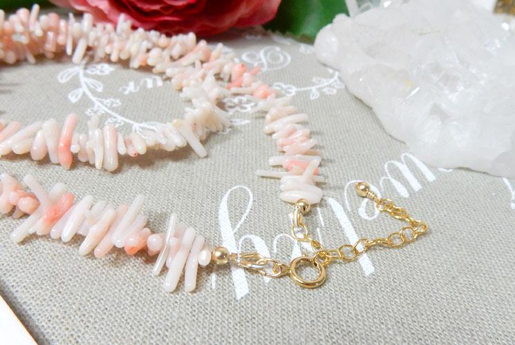 珊瑚のネックレス-1