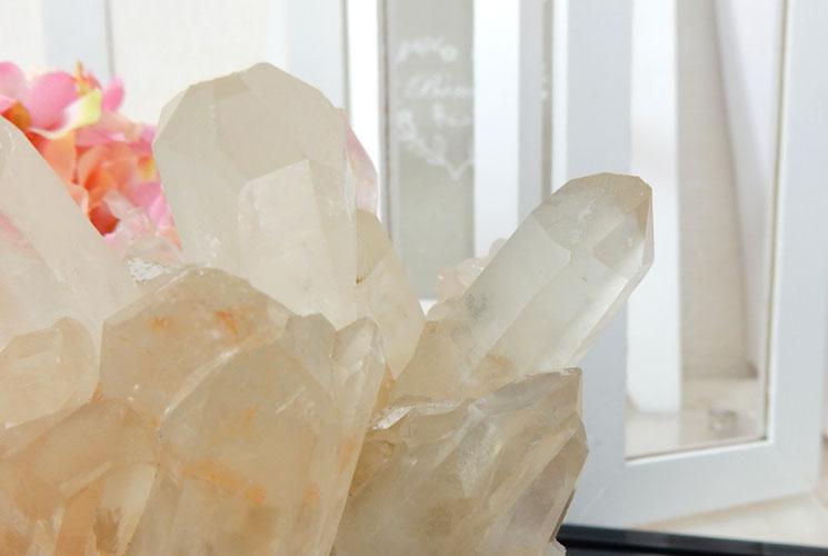 【特価品】ヒマラヤ・マニカラン産の水晶クラスター-1