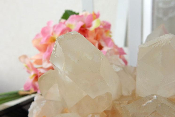 【特価品】ヒマラヤ・マニカラン産の水晶クラスター-2